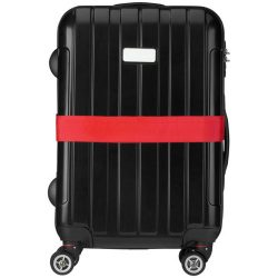 Saul suitcase strap, PP strap with PP buckle, Red