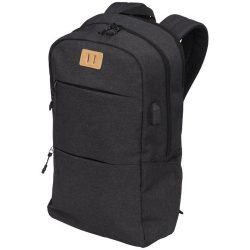 Rucsac Laptop, Everestus, CN, 15 inch, 600D poliester material calduros, gri