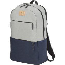 "Cason 15"" laptop backpack, 600D Polyester, Navy,Grey"