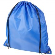 Oriole RPET drawstring backpack, 190T Recycled PET Plastic, Royal blue