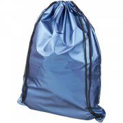 Saculet cu finisaj stralucitor, 44x33 cm, Everestus, 20FEB0880, Poliester 190T, Albastru