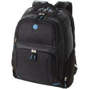 Rucsac laptop 15.4 inch, 33x17x45 cm, Everestus, 20IUN0007, Negru, Poliester