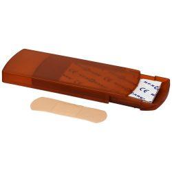 Christian 5-piece plaster box, Polypropylene, Orange