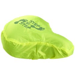 Alain waterproof bicycle saddle cover, Polyester, neon yellow