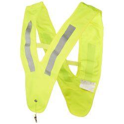 Nikolai v-shaped safety vest for kids, Polyester, neon yellow