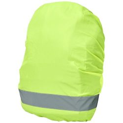 William reflective and waterproof bag cover, Polyester, neon yellow