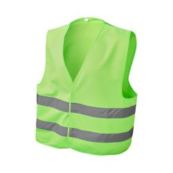 See-me-too safety vest for non-professional use, Polyester, neon green