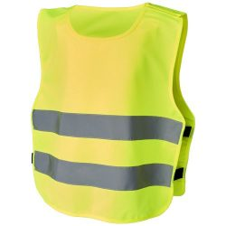 Odile safety vest with hook&loop for kids age 3-6, Polyester, neon yellow