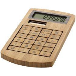 Eugene wooden calculator, Bamboo, Wood