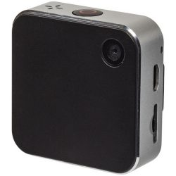 Lifestyle 1080p HD action camera, ABS Plastic, Silver