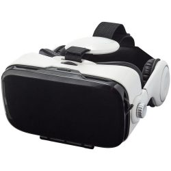 Galaxy virtual reality headset and headphones, ABS Plastic, White