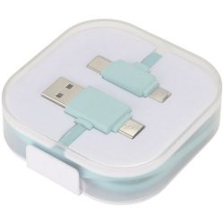 Color Pop Charging Cable, ABS Plastic, mint