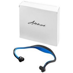 Sport Wireless Earbuds, ABS plastic, solid black