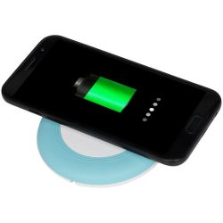 Nebula wireless charging pad with 2-in-1 cable, ABS plastic, mint