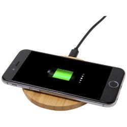 Essence bamboo wireless charging pad, Bamboo, Wood