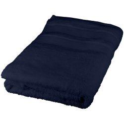 Prosop pentru spa, bumbac, 50x70 cm, Everestus, SPF001, albastru, saculet sport inclus