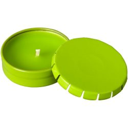 Bova scented canlde in tin, Tin, Lime