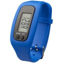 Get-fit pedometer step counter smartwatch, Silicone, Blue