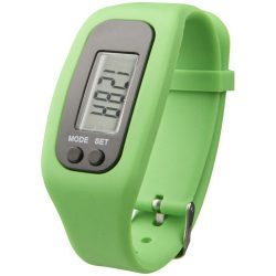 Get-fit pedometer step counter smartwatch, Silicone, Lime
