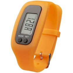 Get-fit pedometer step counter smartwatch, Silicone, Orange