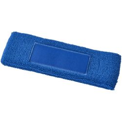 Roger fitness headband, Cotton, Royal blue