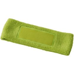 Roger fitness headband, Cotton, Lime