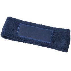 Roger fitness headband, Cotton, Navy