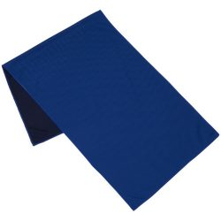 Alpha fitness towel, Polyester, Royal blue