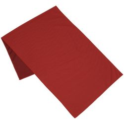 Alpha fitness towel, Polyester, Red