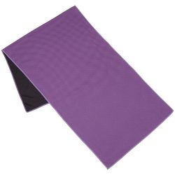 Alpha fitness towel, Polyester, Purple