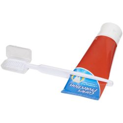Toothbrush w/ squeezer - WH, White