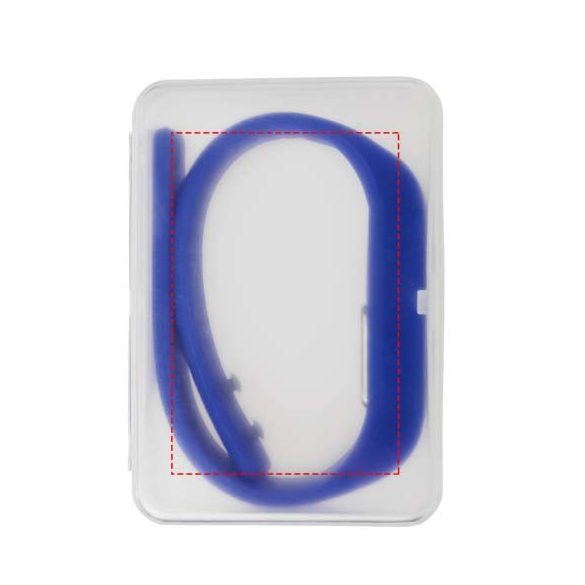 Get-Fitter pedometer activity watch, PP Plastic and silicone, Blue