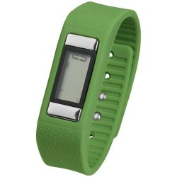 Get-Fitter pedometer activity watch, PP Plastic and silicone, Lime