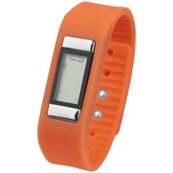 Get-Fitter pedometer activity watch, PP Plastic and silicone, Orange