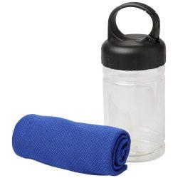 Prosop fitness racoritor, in bidon cu maner, Everestus, 9IA19067, PET, Albastru