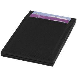 Portofel cu protectie RFID, flip-over, Everestus, PPE05, poliester 300D, negru, 70x6x105 mm, lupa de citit inclusa