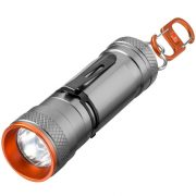 Lanterna 3W led, 4 moduri, Everestus, WN, aluminiu, gri