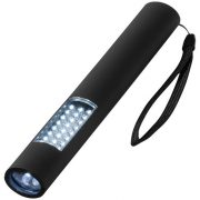 Lutz magnetic 28-LED torch light, ABS plastic with soft touch coating, solid black