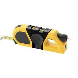 Memphis multi-function measuring tool, ABS, Yellow, solid black