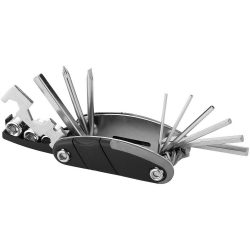 Fix-it 16-function multi-tool, ABS and Stainless steel, solid black