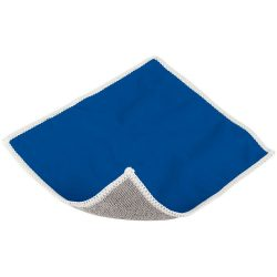 Wiped screen cleaning cloth, Polyester, Blue