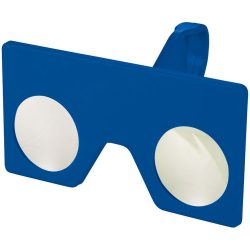 Vish mini virtual reality glasses with clip, ABS Plastic, Royal blue