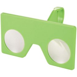 Vish mini virtual reality glasses with clip, ABS Plastic, Lime