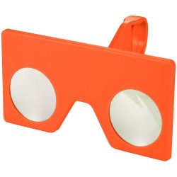 Vish mini virtual reality glasses with clip, ABS Plastic, Orange