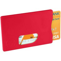 Zafe RFID credit card protector, Plastic, Red