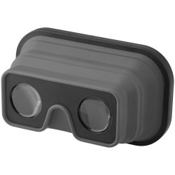 Sil-val fodable silicone virtual reality glasses, ABS Plastic and Silicone, Grey