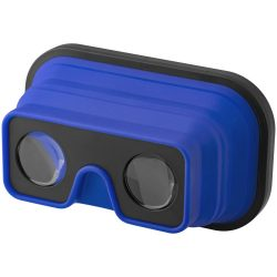 Sil-val fodable silicone virtual reality glasses, ABS Plastic and Silicone, Royal blue