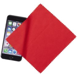 Cleens microfibre screen cleaning cloth, Microfiber, Red