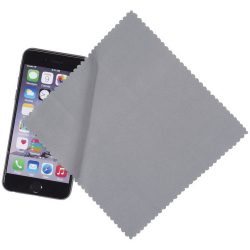 Cleens microfibre screen cleaning cloth, Microfiber, Grey