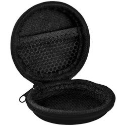 Fly travel accessories case, EVA, solid black